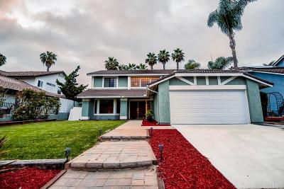 Oceanside Single Family Home For Sale: 3842 Stanford Dr