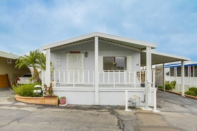 San Marcos Mobile/Manufactured For Sale: 1515 Capalina Rd #48
