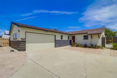 Linda Vista Single Family Home For Sale: 2851 Mimika Pl