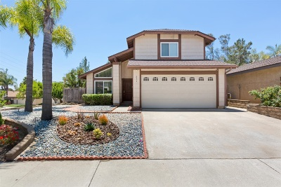 Escondido Single Family Home For Sale: 611 Flintridge Place
