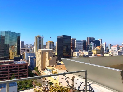 San Diego Attached For Sale: 645 Front Street #2201