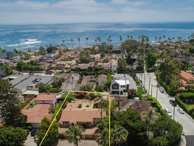 Single Family Home For Sale: 6052 La Jolla Blvd