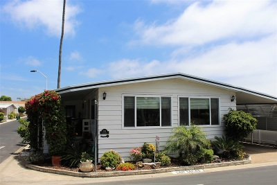 Carlsbad Mobile/Manufactured For Sale: 7214 San Lucas
