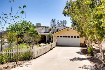 Riverside County, San Diego County Single Family Home For Sale: 17344 Abrigo Way
