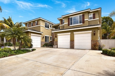 Carlsbad CA Single Family Home Sold: $1,350,000