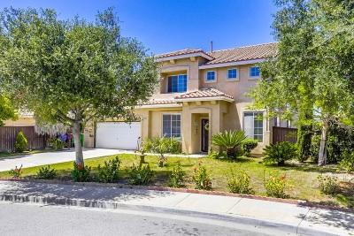 Oceanside Single Family Home For Sale: 3976 Escala Cv
