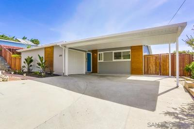 North Park, North Park - San Diego, North Park Bordering South Park, North Park, Kenningston, North Park/City Heights Single Family Home For Sale: 2051 Boundary St