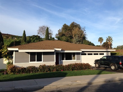 Single Family Home For Sale: 2219 El Monte Dr