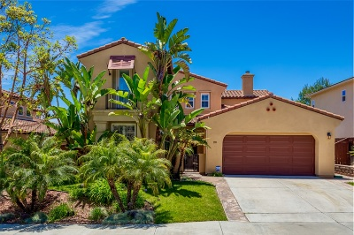 San Diego County Single Family Home For Sale: 390 Plaza Calimar
