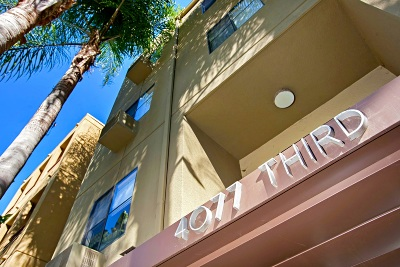 San Diego Attached For Sale: 4077 3rd Ave #301