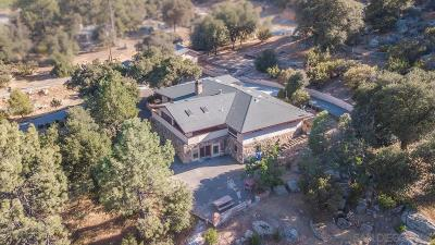 San Diego County Single Family Home For Sale: 28557 Old Highway 80