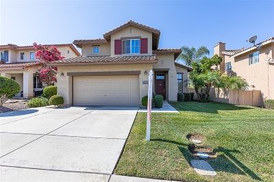 San Marcos Single Family Home For Sale: 1277 Via Caliente