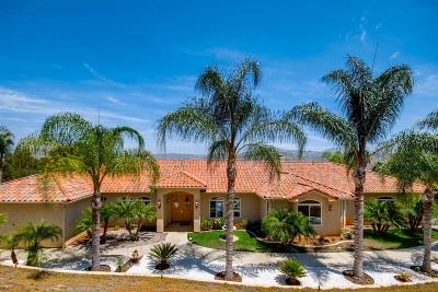 Escondido Single Family Home For Sale: 2806 Green Mountain Ln.