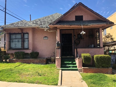 San Diego County Single Family Home Contingent: 2526 E St
