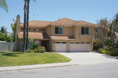 Escondido Single Family Home For Sale: 1410 Austin Way