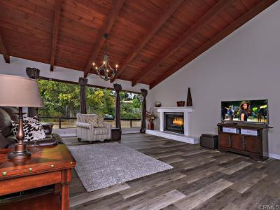 Escondido Single Family Home For Sale: 3539 Ryan Dr