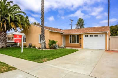 Single Family Home For Sale: 3339 Cheyenne Ave