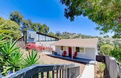 San Diego Single Family Home For Sale: 1267 Weaver Street