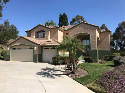 Escondido Single Family Home For Sale: 1202 Bernardo Ridge Place