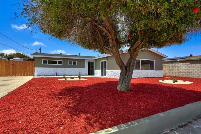 San Diego County Single Family Home For Sale: 1212 Napa Ave