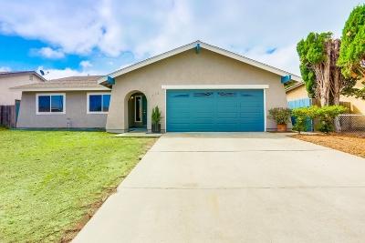 Oceanside Single Family Home For Sale: 658 Hunter St