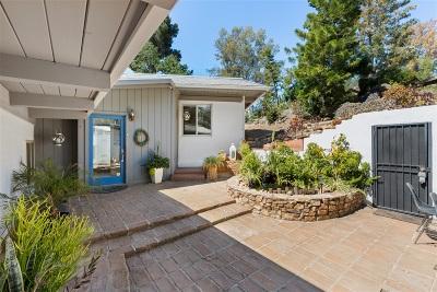 Escondido Single Family Home For Sale: 26084 Los Arboles Ranch Rd