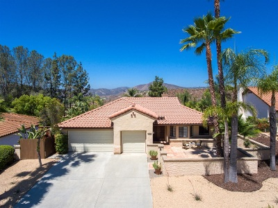 Escondido Single Family Home For Sale: 626 Inspiration Ln
