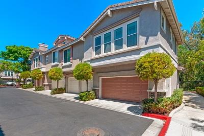 Rancho Bernardo, San Diego Townhouse For Sale: 12067 World Trade Drive #1