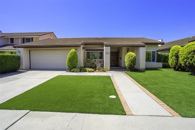 Single Family Home For Sale: 2655 San Clemente Ter
