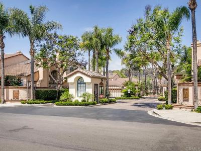 Rancho Santa Fe Townhouse For Sale: 3614 Paseo Vista Famosa