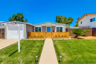 Single Family Home For Sale: 3546 Hatteras Ave