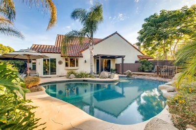 San Diego CA Single Family Home For Sale: $835,000