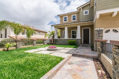 San Marcos Single Family Home For Sale: 987 Canyon Heights