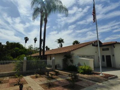 Single Family Home For Sale: 5752 Redondo Dr