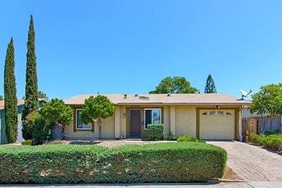Mira Mesa, Mira Mesa South, Mira Mesa Verde Single Family Home For Sale: 8618 Frobisher