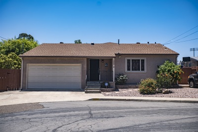 San Diego Single Family Home For Sale: 4208 Spartan Circle