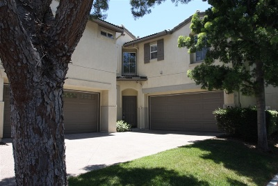 Chula Vista Townhouse For Sale: 1853 Via Capri