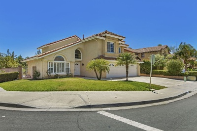 Single Family Home For Sale: 8787 Cayucos Way