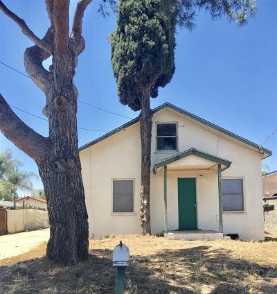 Escondido Single Family Home For Sale: 1052 E Lincoln