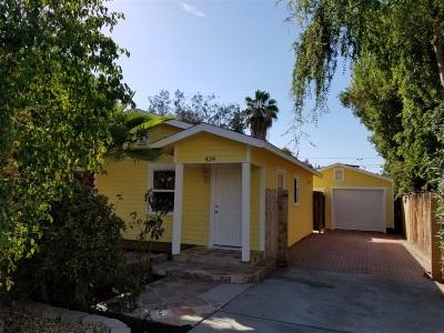 Escondido Single Family Home For Sale: 424 W 11th