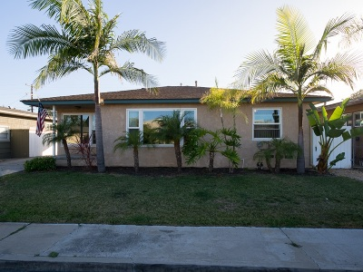 San Diego Single Family Home For Sale: 4922 64th St