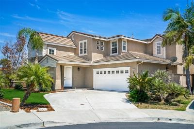 Chula Vista Single Family Home For Sale: 1166 Wildwood Ct
