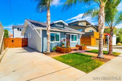 North Park, University Heights Multi Family 2-4 For Sale: 3537-3539 Granada Ave