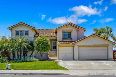 Oceanside Single Family Home For Sale: 3410 Pirgos Way