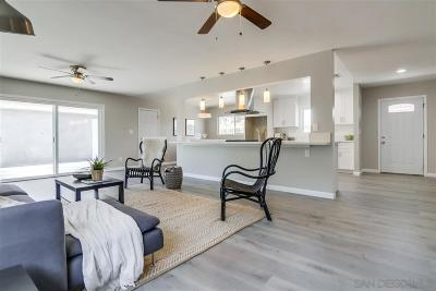 Chula Vista CA Single Family Home For Sale: $579,000