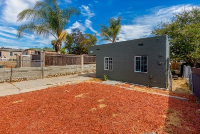 Single Family Home Sold: 4521 Imperial Ave