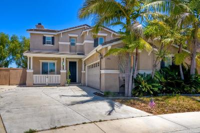 Oceanside Single Family Home For Sale: 396 Monte Vista Way