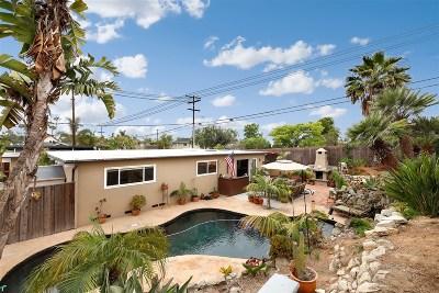Oceanside Single Family Home For Sale: 1502 Kurtz St