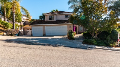 Escondido Single Family Home For Sale: 2041 Caraway St