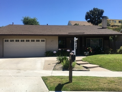 Oceanside Single Family Home For Sale: 4137 Terry